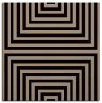 rug #1288247 | square black stripes rug