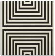 rug #1288259 | square black retro rug