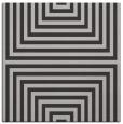 rug #1288459 | square red-orange stripes rug