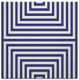 rug #1288535 | square white stripes rug