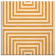 rug #1288599 | square light-orange retro rug