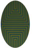 rug #1288680   oval stripes rug