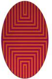 rug #1288890   oval retro rug