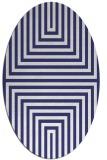 rug #1288903   oval blue popular rug