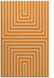 rug #1288971 |  orange retro rug