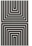 rug #1288975    black stripes rug