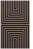 rug #1288983 |  black stripes rug
