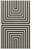 rug #1288995 |  black stripes rug