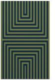 rug #1289015 |  green stripes rug