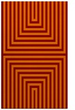 rug #1289183 |  red-orange stripes rug