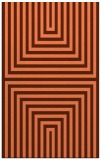 rug #1289195 |  red-orange retro rug