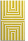 rug #1289299 |  yellow retro rug