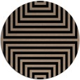 rug #1289351   round black retro rug