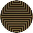 rug #1289359 | round black stripes rug