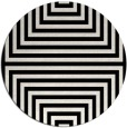 rug #1289487 | round black retro rug