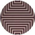rug #1289507 | round pink retro rug