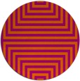 rug #1289626 | round retro rug
