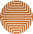 rug #1289627 | round red-orange retro rug
