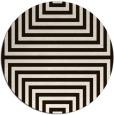 rug #1289643 | round brown retro rug
