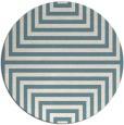 rug #1289651 | round white popular rug
