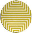 rug #1289667   round yellow stripes rug