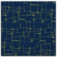 rug #1290119   square blue graphic rug