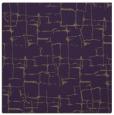 rug #1290327 | square mid-brown rug