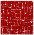 rug #1290335 | square red rug