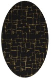 rug #1290471   oval brown graphic rug