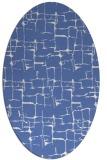 rug #1290491   oval blue rug