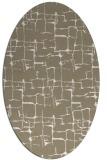 rug #1290607   oval white rug