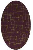 rug #1290691   oval green rug