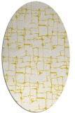 rug #1290739 | oval white graphic rug