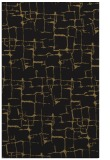 rug #1290839 |  black graphic rug