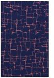 rug #1290903    blue-violet graphic rug