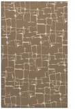 rug #1290971 |  mid-brown graphic rug