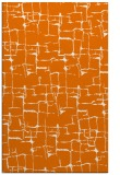 rug #1291027    orange graphic rug