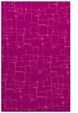 rug #1291039 |  pink graphic rug