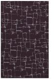 rug #1291067 |  purple graphic rug