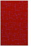 rug #1291083 |  red graphic rug