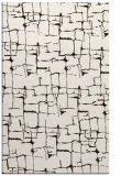 rug #1291115 |  brown graphic rug