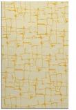 rug #1291131 |  yellow graphic rug