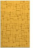 rug #1291143 |  yellow graphic rug