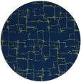 rug #1291223 | round green graphic rug