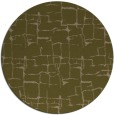 rug #1291291 | round brown graphic rug