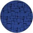 rug #1291383 | round black graphic rug