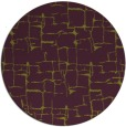 rug #1291427 | round purple rug