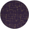 rug #1291431 | round mid-brown graphic rug