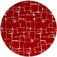 rug #1291439 | round red rug
