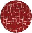 rug #1291447 | round red graphic rug